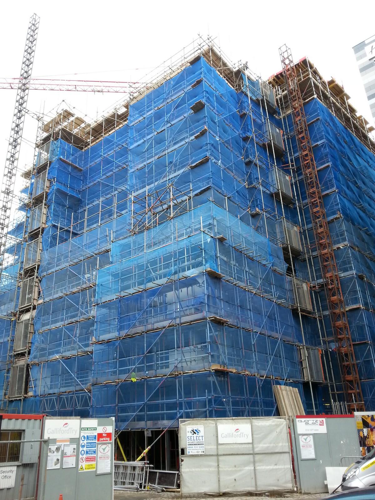 Scaffolding Projects Manchester Sheffield Barnsley